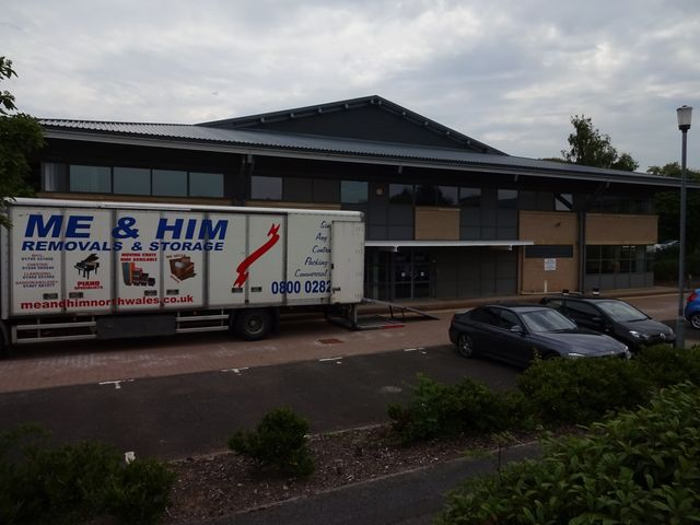office relocation specialists in North Wales