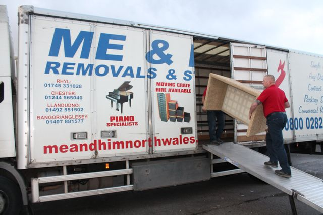 Removal services in the United Kingdom