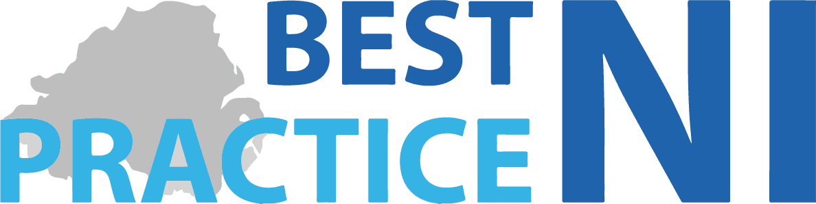 best practice ni logo dark