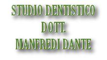 MANFREDI DOTT. DANTE