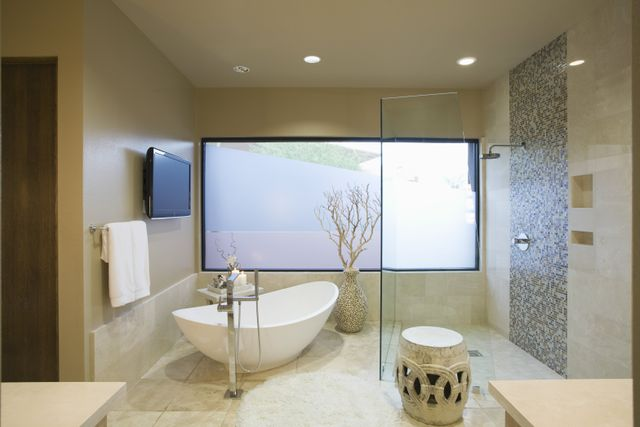 Bathroom TV and specialty services