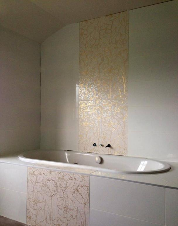 Bathroom mosaic tiling in Brookby Auckland by A1 Surface Tiling