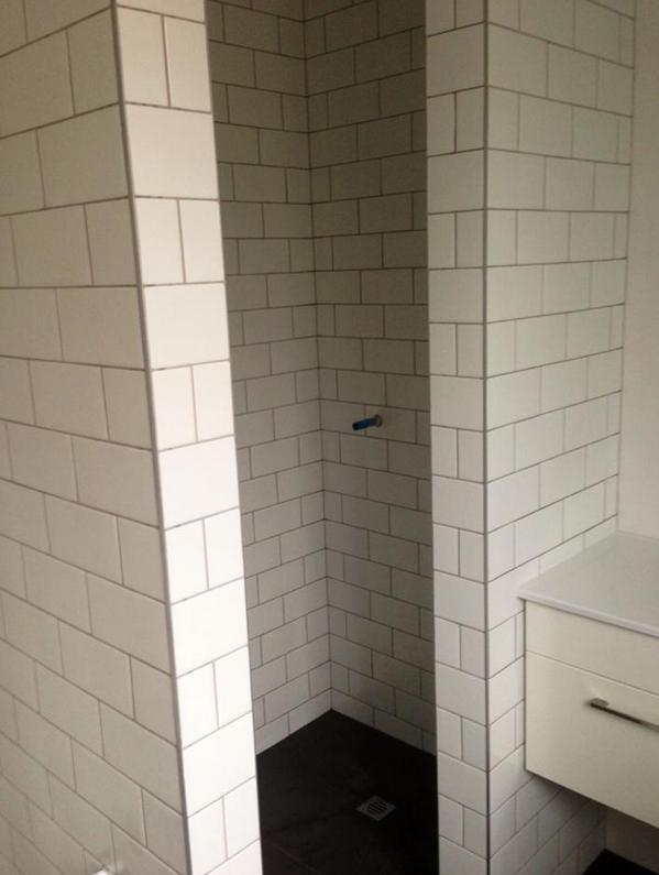 Bathroom shower tiling in Auckland by A1 Surface Tiling