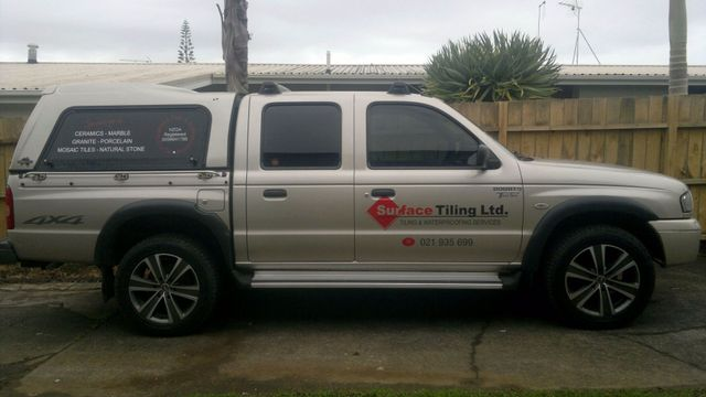 Business car for a quality tiler in Howick