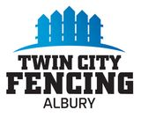 twin city fencing business logo