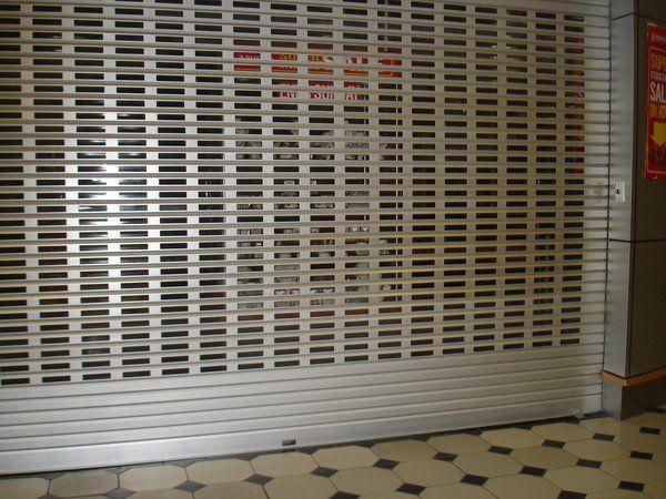 aluminium Roller grille,