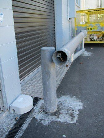 Swing barrier installed by an Auckland team