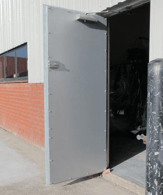 Premium steel doors installed by experts