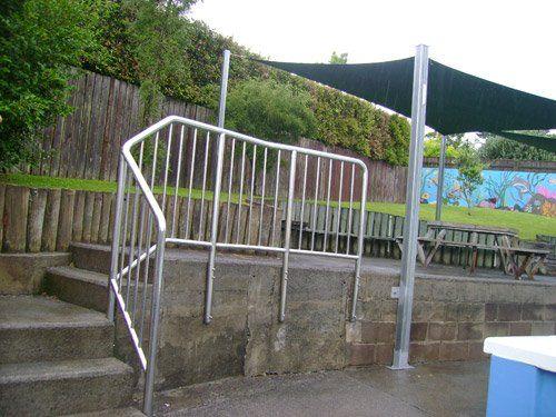 Custom steel fence