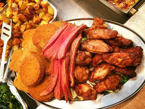 Pollo, Salsicce, Patate