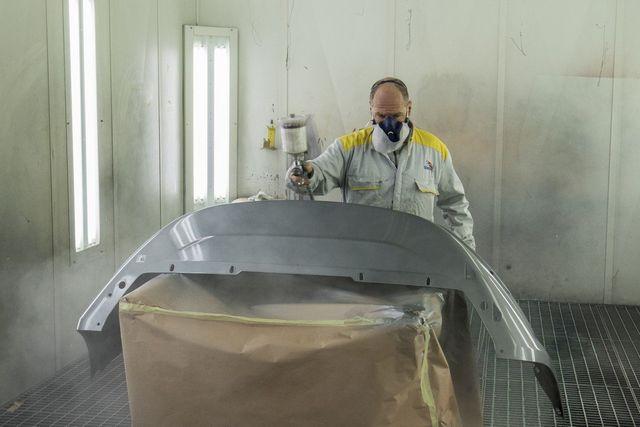 Verniciatura a forno di autoveicoli-renieri a pescia