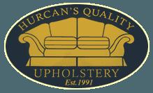 HURCAN'S QUALITY UPHOLSTERY logo
