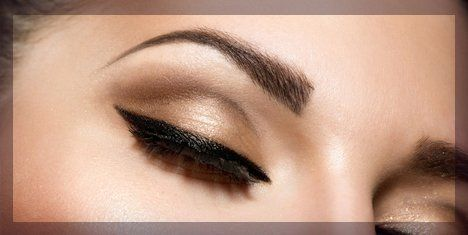 Charcoal - dark black brows