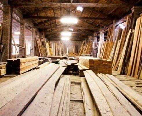 tavolati in legno e legnami