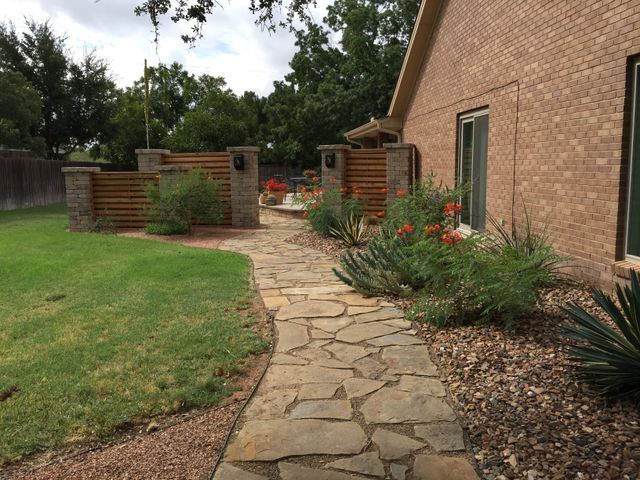 landscape hardscaping design contractor midland tx