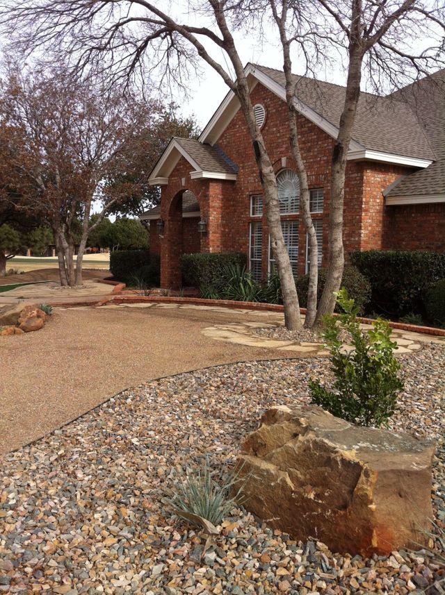 Residential Landscaping Keller Tx : Landscape hardscaping design contractor midland tx grass hopper enterprises