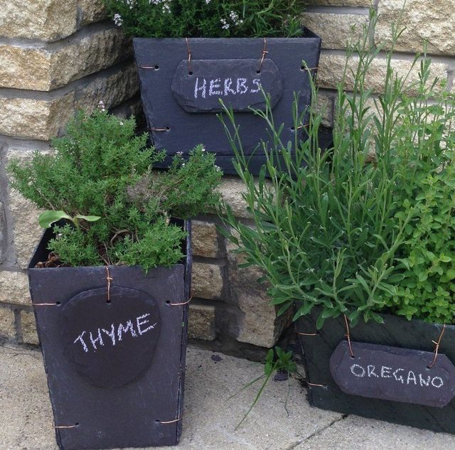 Adding Beauty To Your Home Our Slate Planters