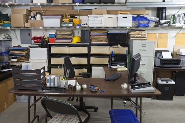 piles of electronics