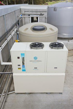 power saver milk refrigeration system