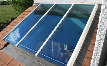 high-quality window glass
