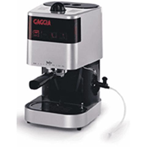 una macchinetta del caffè della marca Gaggia