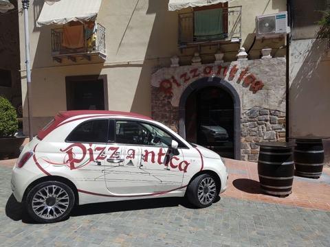entrata della pizzeria