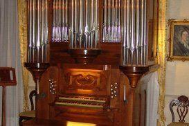 un organo a canne