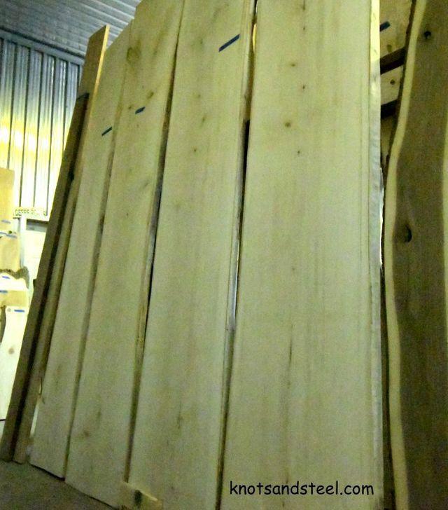 Live Edge Wood Slab Sales Rockwood Ontario 45 Mins West