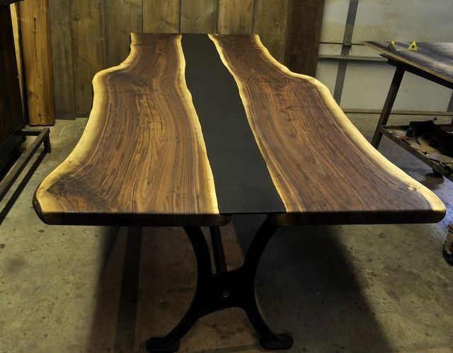 Live Edge Furniture Shop Guelph Ontario 45 Min Drive From