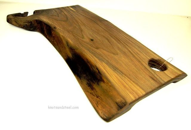 Live edge Walnut  snack serving board