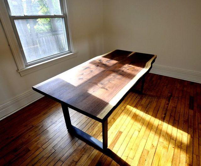 Black Walnut Live edge table.