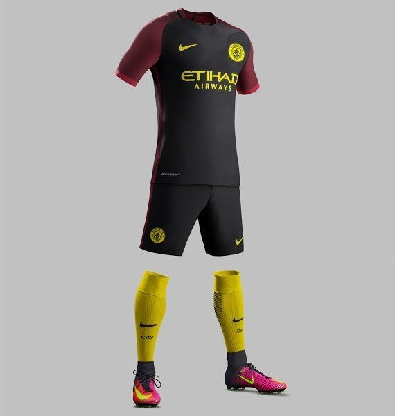 huge selection of c1341 b5eb6 Manchester City Away Kit Released.