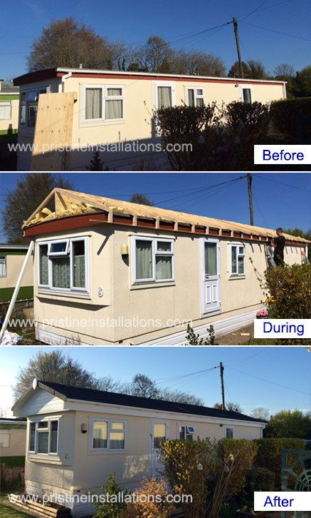 Park Home Roofing Exterior Cladding