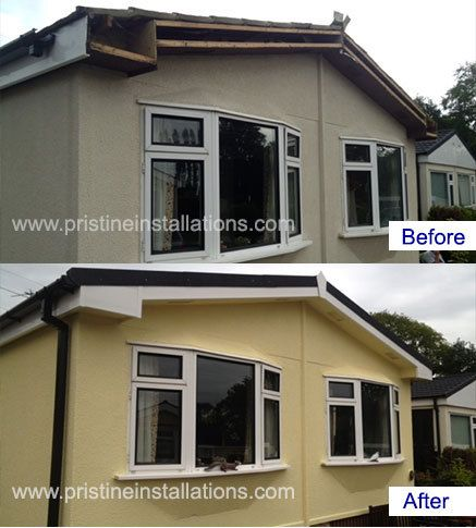Park Home Roofing Exterior Cladding In The UK