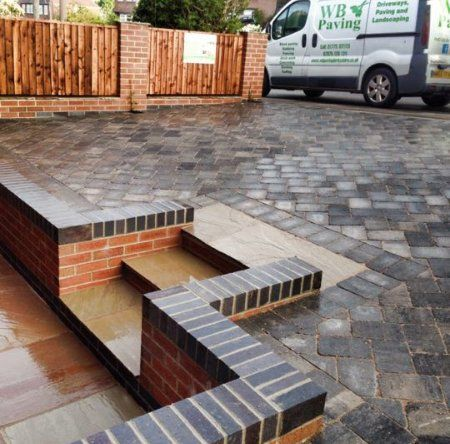 Garden walls built for you in Derbyshire