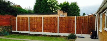tall fencing
