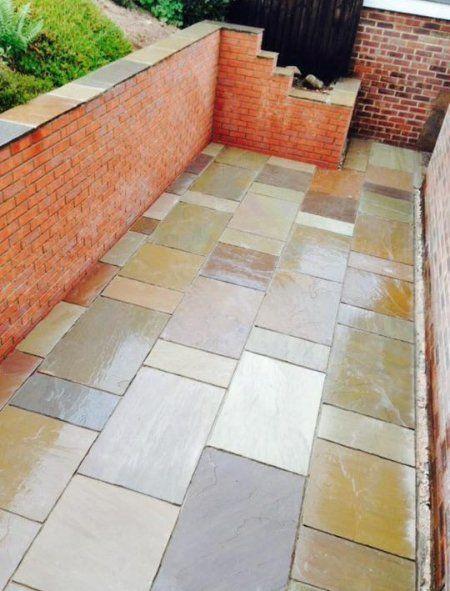 garden brick walling