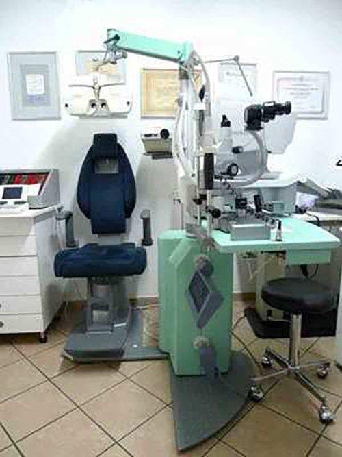 laboratorio per visite oculistiche