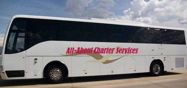 all about charter services vehicle side view
