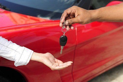 chiave di una macchina