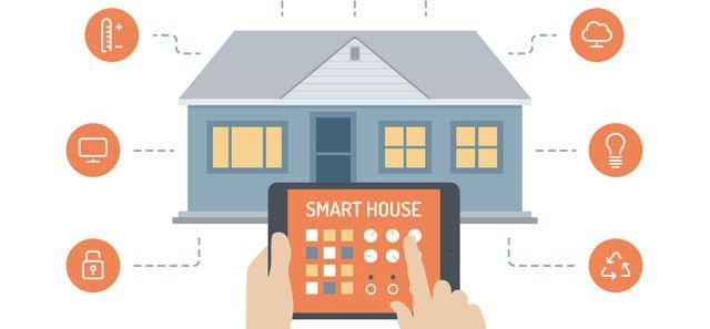 smart house domotica in casa
