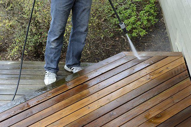 Waterblasting Deck