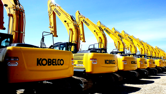 Kobelco Excavators for Sale or Rent | Amarillo Machinery