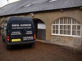 French polishers - Newcastle, Tyne and Wear - David Johnston French Polishing Services Ltd - Van