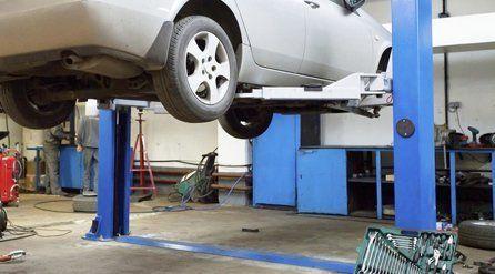 Car underside