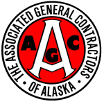 The Associate General Contractors of Alaska logo