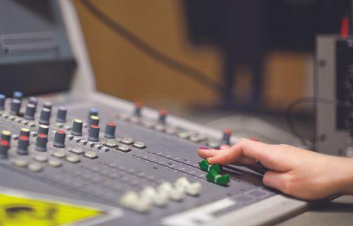 a sound mixer