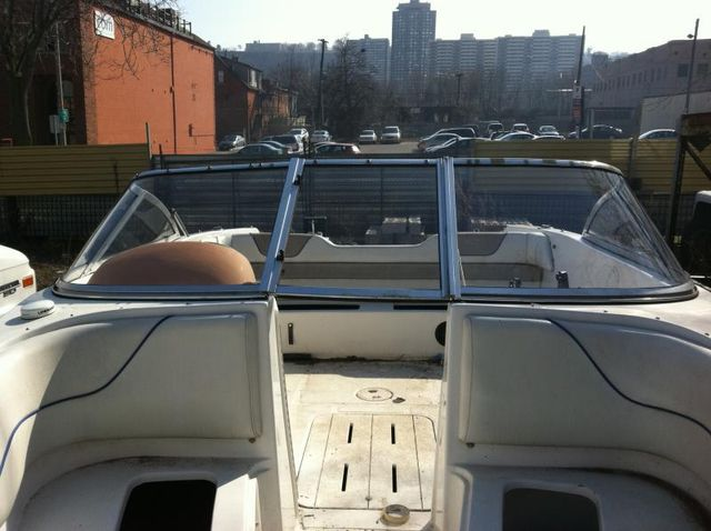 Curved Glass Yacht Windshield Replacement