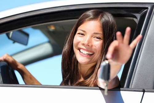Woman is happy with the locksmith service in Thomasville, NC