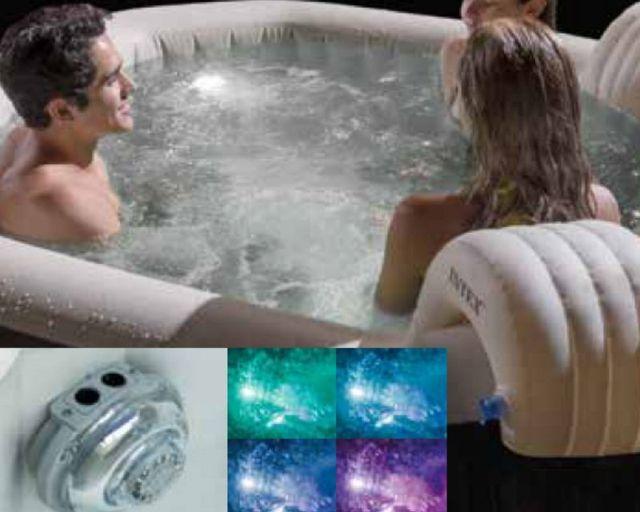 อ่างน้ำร้อน อ่างน้ำจากุซซี่ อ่างน้ำวน อ่างน้ำพร้อมระบบนวด ระบบบำบัดน้ำเกลือ ไฟใต้น้ำของอ่างน้ำร้อนจากุซซี่